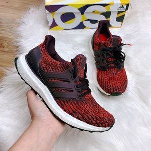 New Adidas Ultraboost Noble Red Sneakers